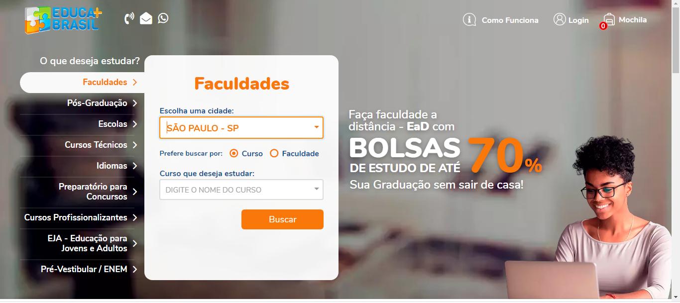 Inscricoes Educa Mais Brasil 2021 Cursos E Bolsas De Ate 70