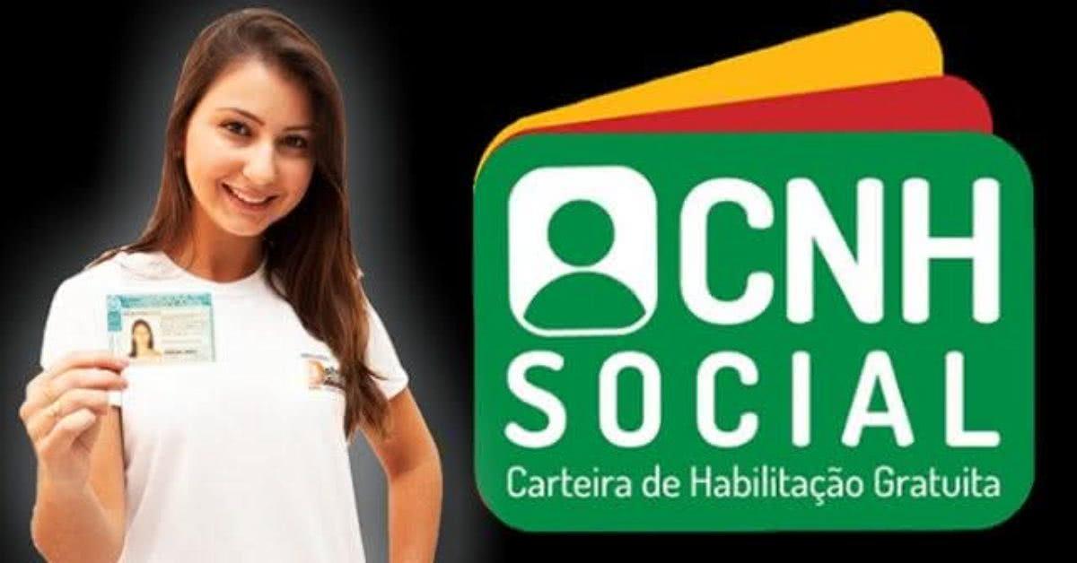 Inscrições CNH Social 2021