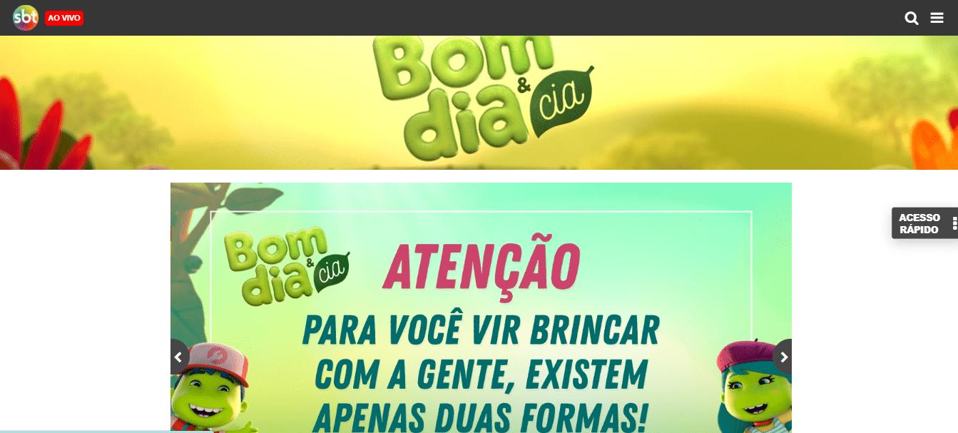 Site Oficial do Bom Dia e Cia