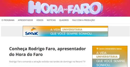 Inscrições Hora do Faro 2022