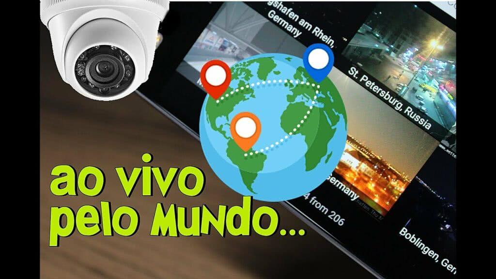 Câmeras ao vivo pelo mundo