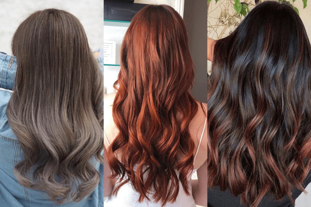App que muda a cor do cabelo